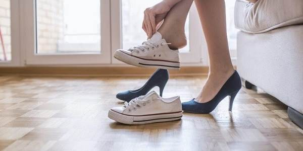 تاثیر کفش طبی در درمان درد زانو