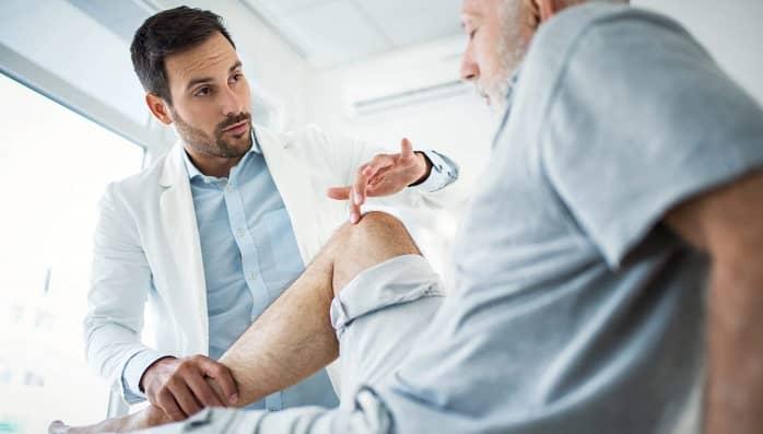 تشخیص درد زانو