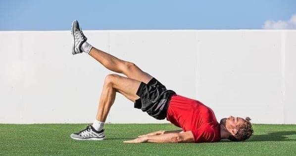 تمرین عضلات گلوت برای درمان پای پرانتزی