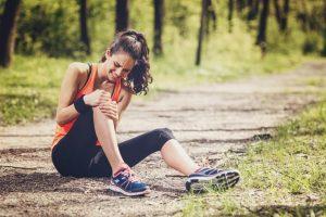 درد زانو هنگام خم شدن