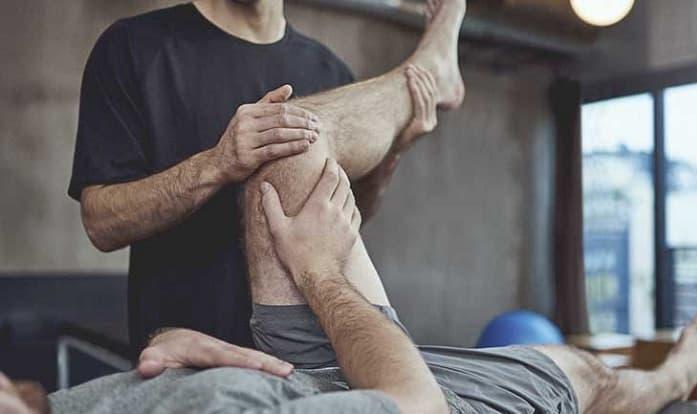 درمان پیچ خوردگی زانو