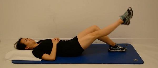 تمرین ستهای چهارسر برای درمان پای پرانتزی