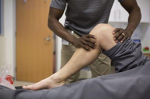 درمان پارگی رباط صلیبی زانو با فیزیوتراپی