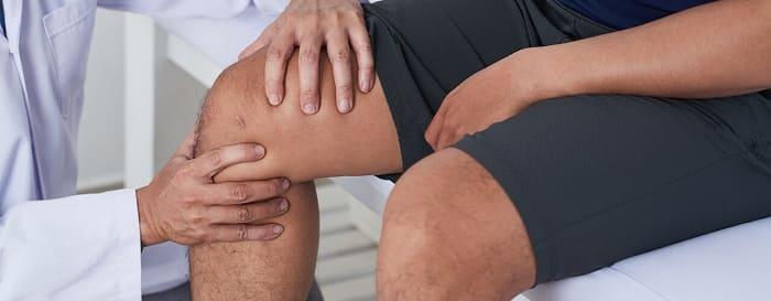 ماساژ دادن زانو برای پیشگیری از زانو درد