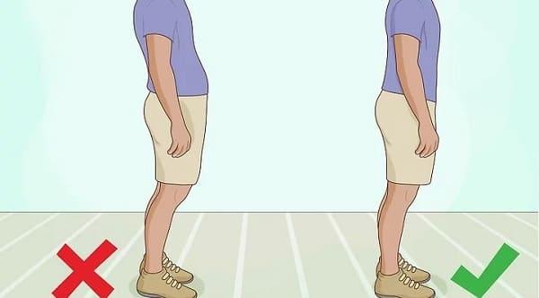 هنگام راه رفتن صاف بایستید