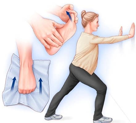 درمان صافی کف پا با ورزش