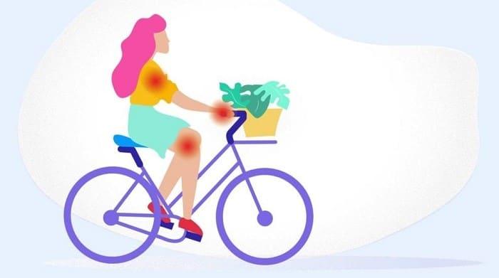 چرا دوچرخه سواری برای مفاصل خوب است؟