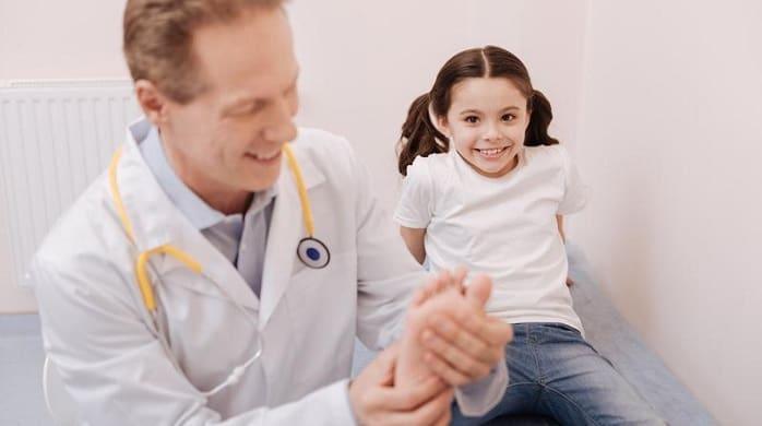 چگونه پای پرانتزی تشخیص داده شده و درمان میشود