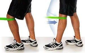 کشش ترمینال زانو برای تقویت ضلات چهار سر ران