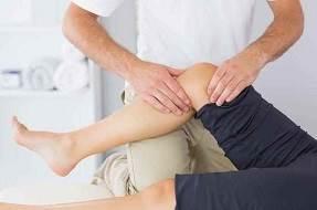 ماساژ درمانی زانو