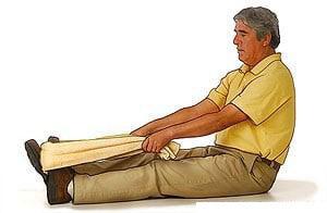 کشش پلانتار فاسیای ساق